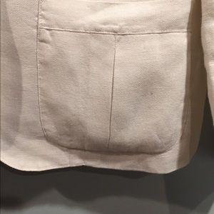 Lauren Ralph Lauren Jackets & Coats - Ralph Lauren White Linen Blazer